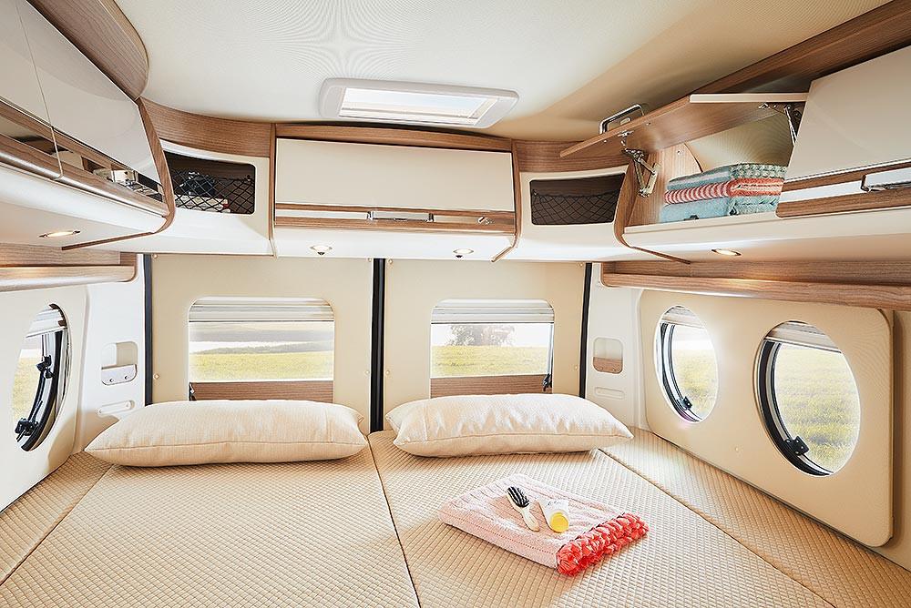 Malibu Van640LE GT - Heckbett