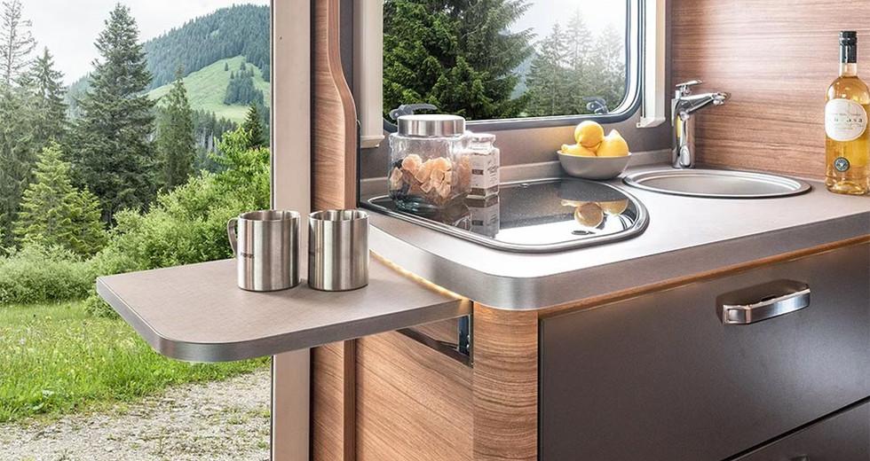 Weinsberg CaraCompact  600 MEG - Küche