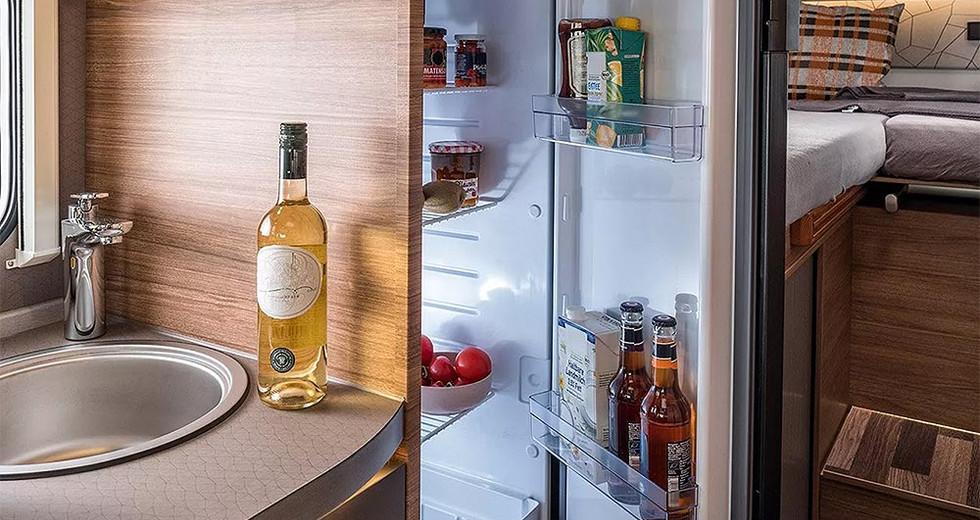 Weinsberg CaraCompact  600 MEG - Kühlschrank