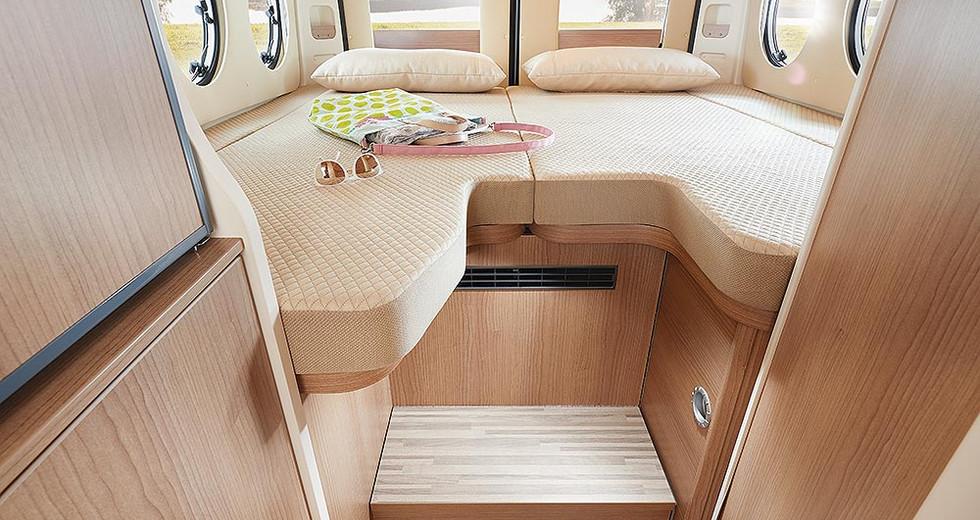 Malibu Van640LE GT - Bett