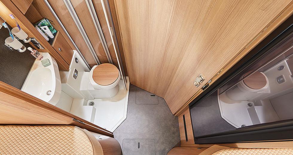 Malibu I430LE - Umkleidezimmer