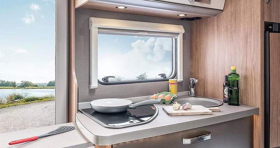 Weinsberg CaraHome 550 MG - Küche