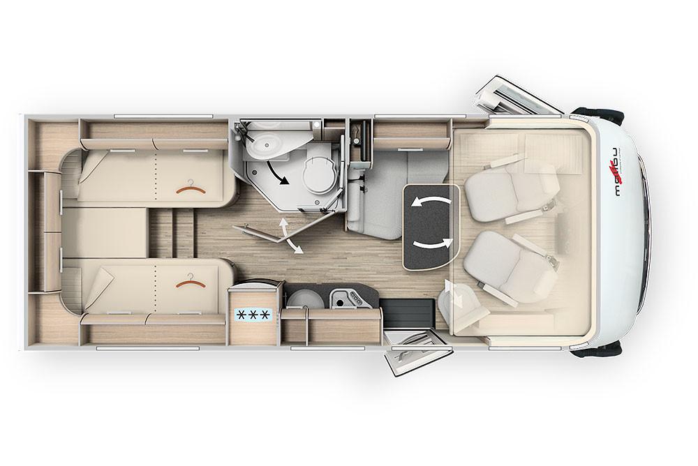 Malibu I430LE - Grundriss