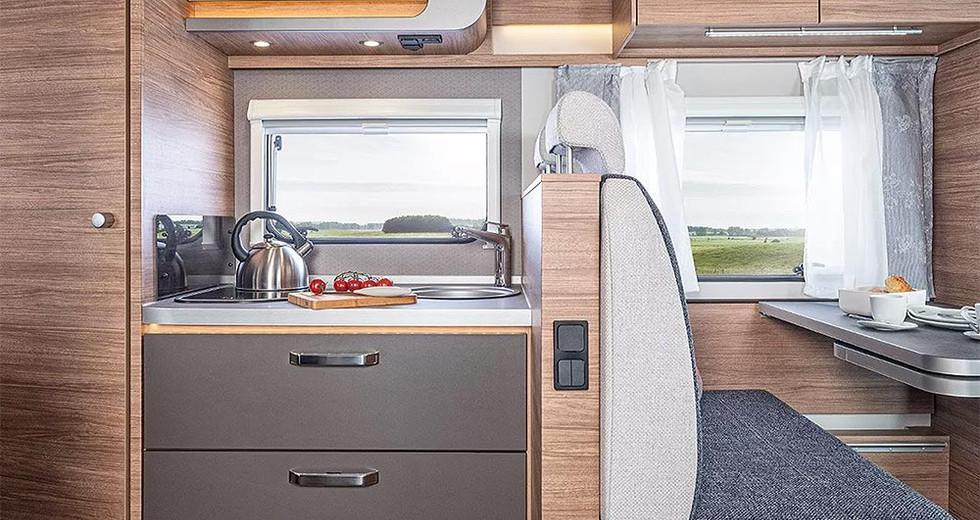 Weinsberg CaraSuite 650 MF - Küche