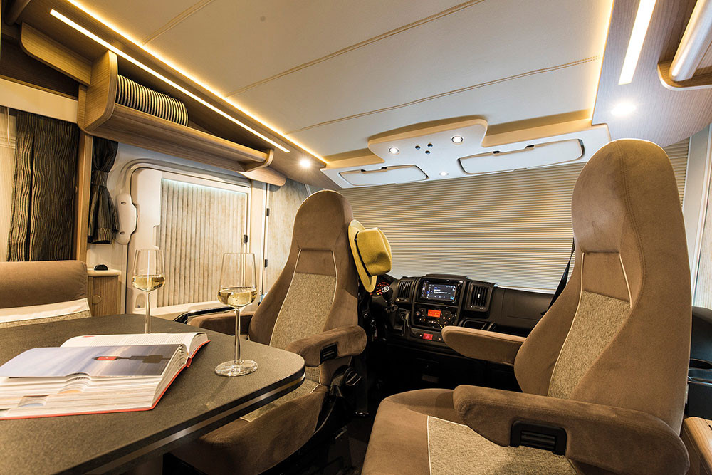 Malibu I430LE - Wohnraum