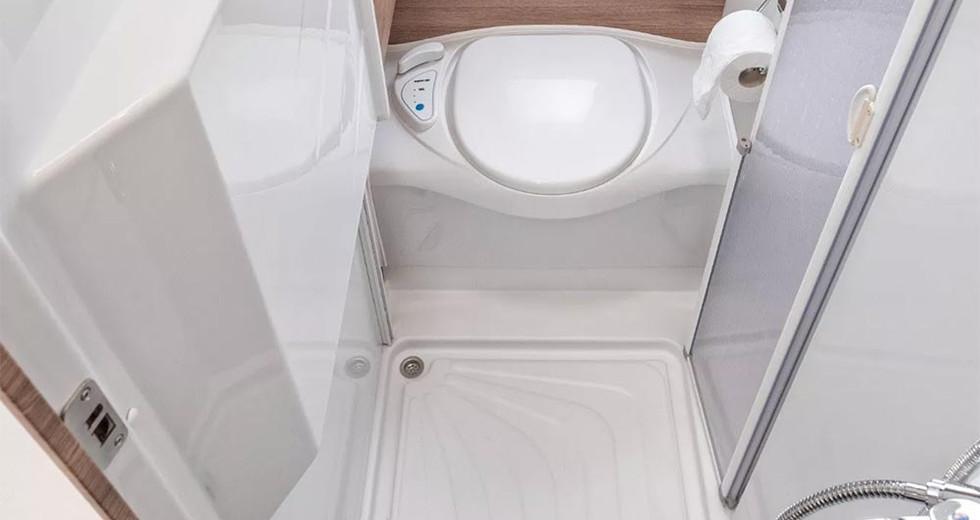 Weinsberg CaraCompact 600 MF - Toilette