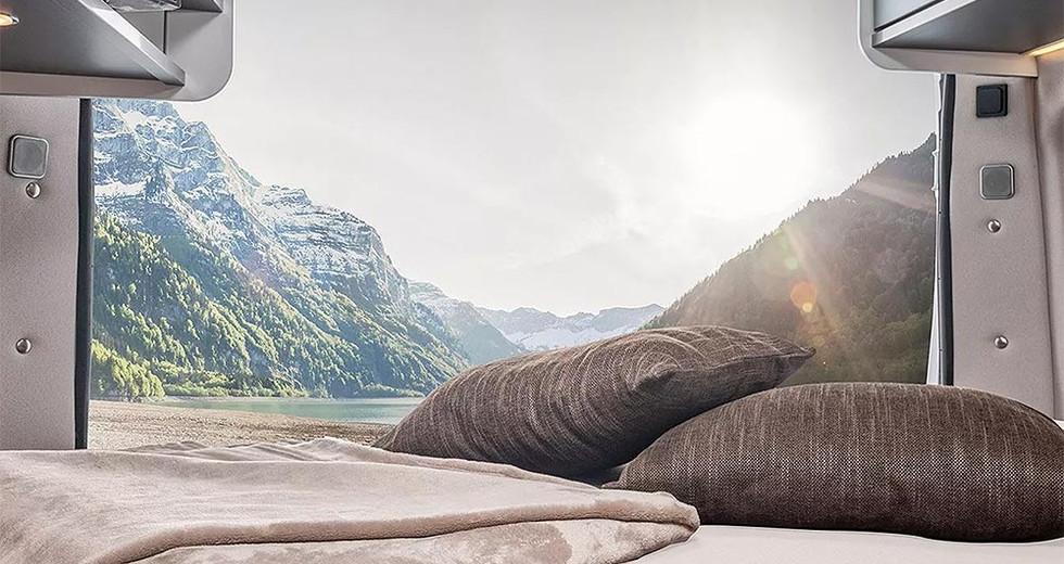 Weinsberg CaraTour 600DQ - Bett