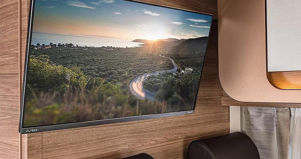 Weinsberg CaraCompact  600 MEG - TV