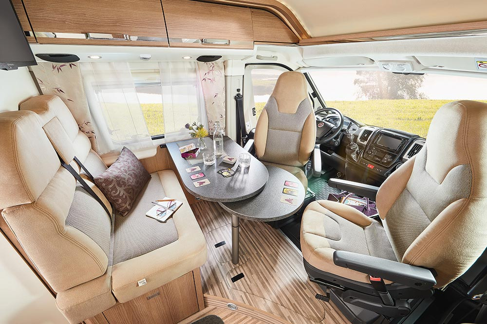 Malibu Van640LE GT - Wohnraum