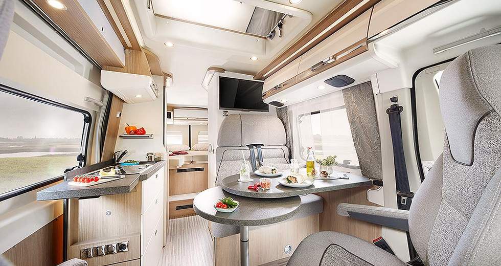 Malibu Van 640 LE GT Hochdach - Wohnraum