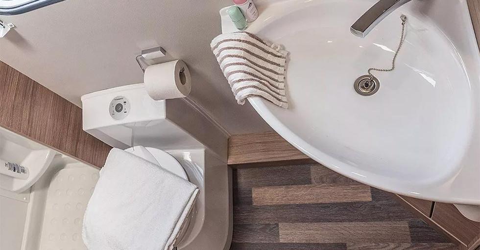 Weinsberg CaraLoft 650 ME - Bad & Toilette