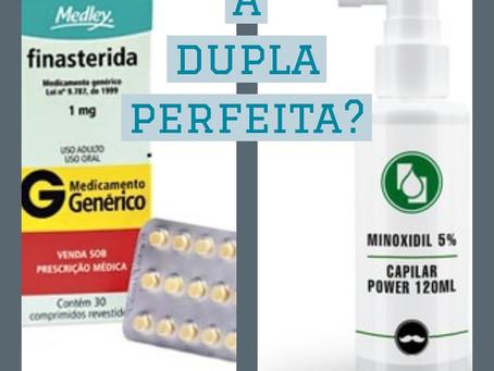 Minoxidil + Finasterida
