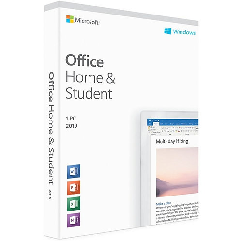 MICROSOFT OFFICE 2019 HOME AND STUDENT   WINDOWS