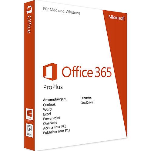 Office 365 Pro Plus - für 5 Geräte unbegrenzte Nutzungsdauer