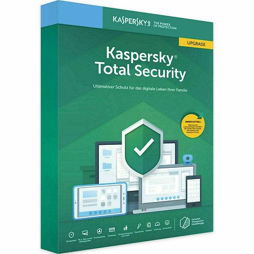 Kaspersky Total Security 2020 (1PC/Gerät) 2 Jahre