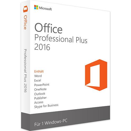 MICROSOFT OFFICE 2016 PROFESSIONAL PLUS | WINDOWS
