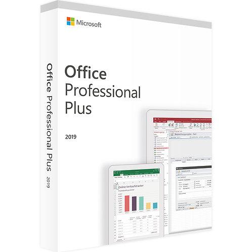 MICROSOFT OFFICE 2019 PROFESSIONAL PLUS | WINDOWS