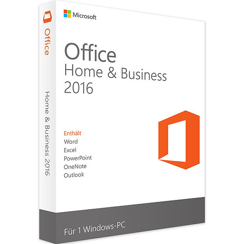 MICROSOFT OFFICE 2016 HOME AND BUSINESS | WINDOWS