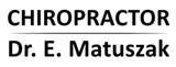 Chiropractor | Dr. E. Matuszak