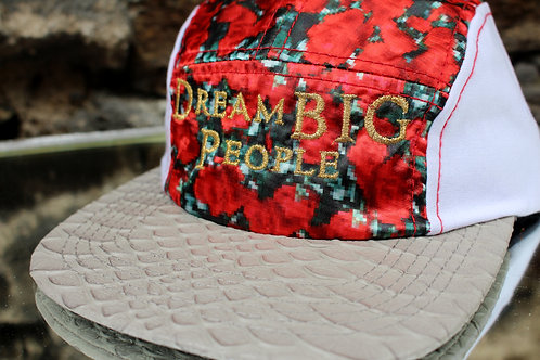Digital Roses 5 Panel Strap Back