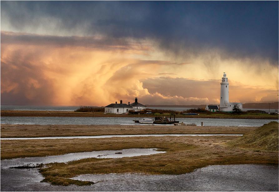 Hurst lighthouse squall