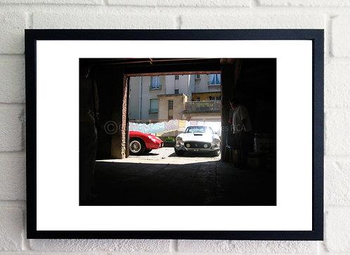 Ferrari Car Wash (size A3)