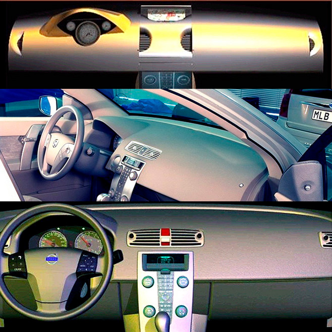S40 Interior Concept Development