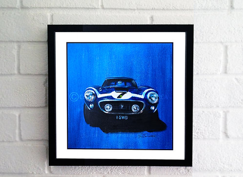 SOLD Rob Walker 250 GTO Painting