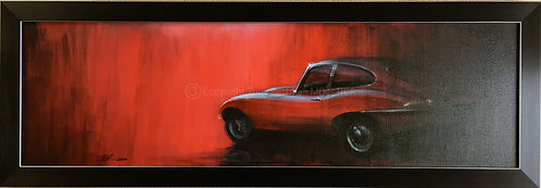 Red E Type Painting