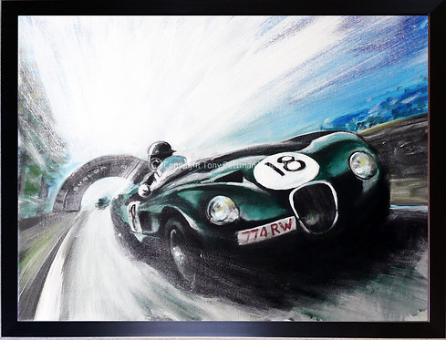 SOLD-Jaguar C-Type