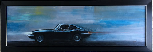 Blue E Type Painting