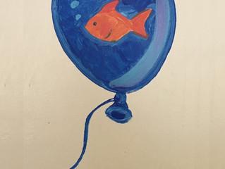 Arte y juego en los pasillos de pediatría. 4.
