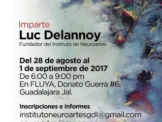 Curso de Neuroartes en Guadalajara, México.