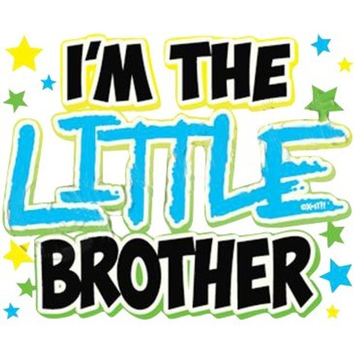 """Iron-On """"I'm The Little Brother"""""""