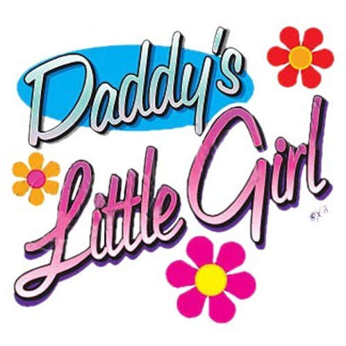 "Iron-On ""Daddy's Little Girl"""