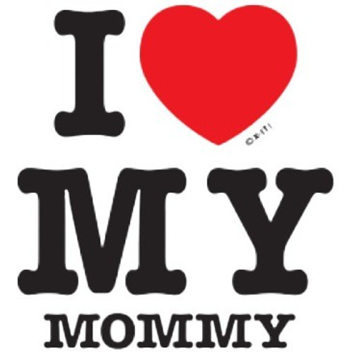 "Iron-On ""I Love My Mommy"""