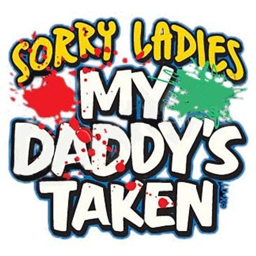 """Iron-On """"Sorry Ladies"""""""