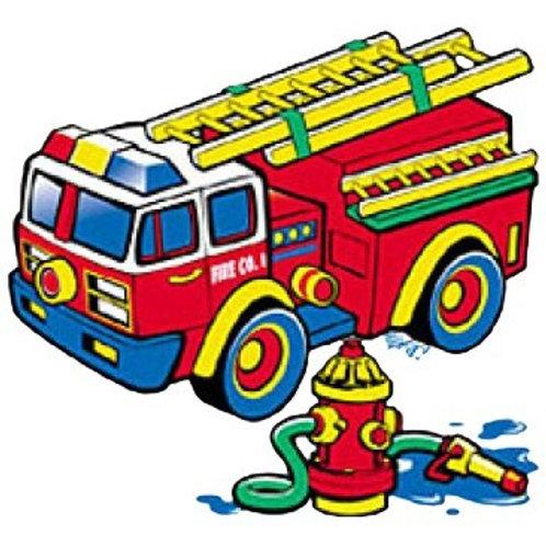 "Iron-On ""Fire Engine"""