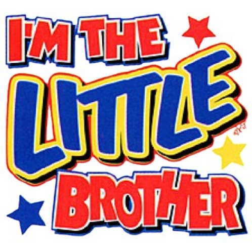 "Iron-On ""I'm The Little Brother"""