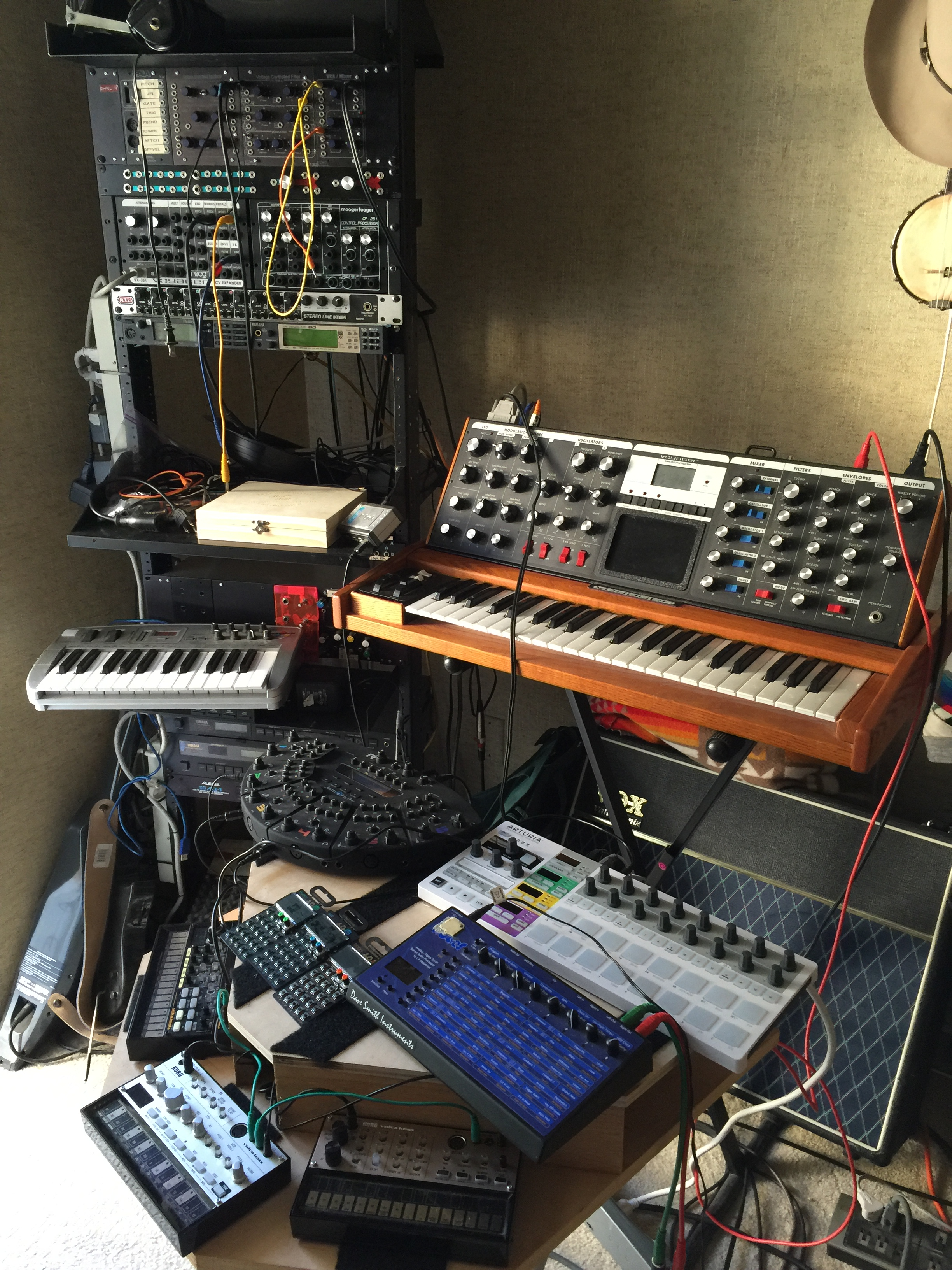 synth setup aa
