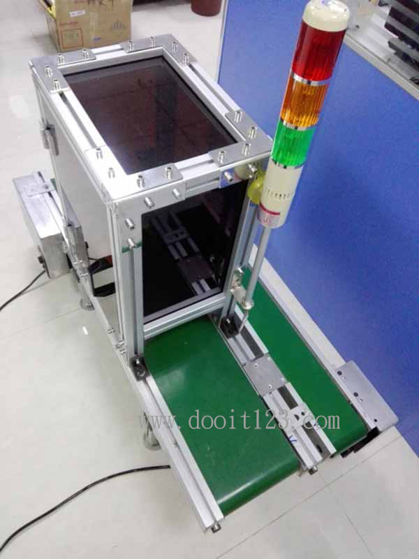輸送帶篩檢機台,震動盤篩選機,鉚釘檢測,緊固件,螺絲、橡膠、塑膠、連接器、鉚釘、