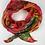 Foulard  mandalas chatoyants