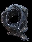 Foulard-noir-picoté