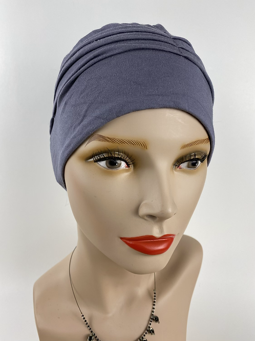 Bonnet gris rosée