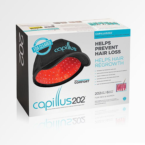 Casquette laser 202 iodes Capillus