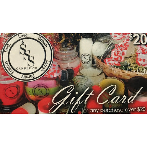 Simply Scents Gift Cards