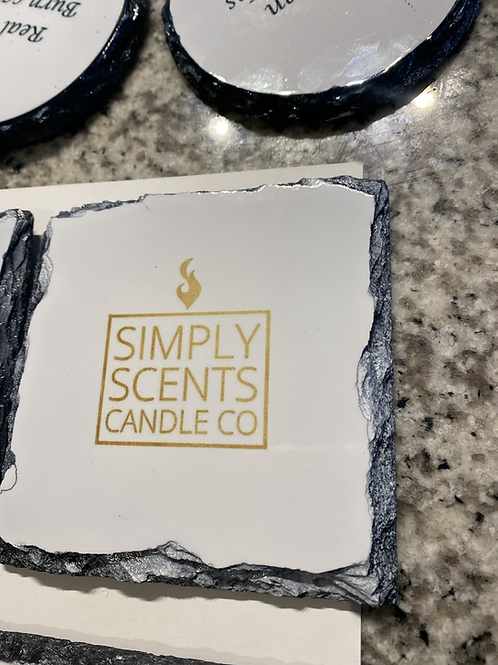 Simply Scents Custom Candle Coasters