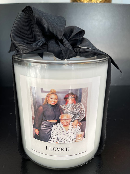 22 oz. Triple Scented Picture Candle