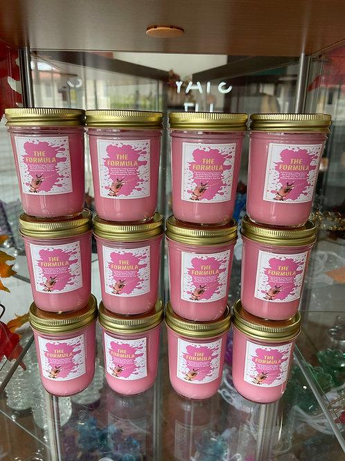 Case 8 oz. Customizable Jelly Jar Candles