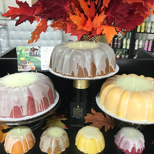 Simply Scents Bundt Cake Candle
